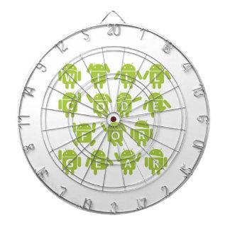 Will Code For Gear (Bugdroid Software Developer) Dart Board