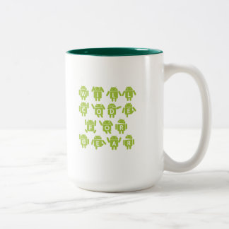 Will Code For Gear (Bugdroid Software Developer) Coffee Mugs
