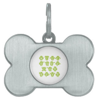 Will Code For Gear (Bugdroid Software Developer) Pet Tag