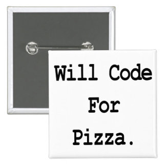 will code for pizza button