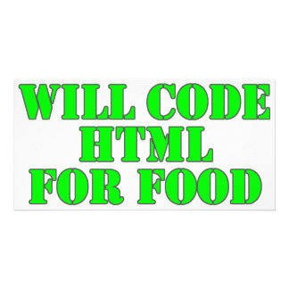 Will Code HTML For Food Card