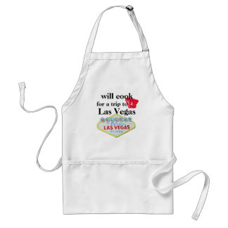 Will Cook for Las Vegas Adult Apron