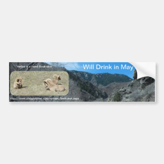 Will Drink in May Bumper Sticker