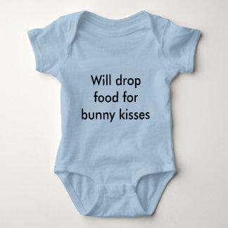 Will drop food baby baby bodysuit