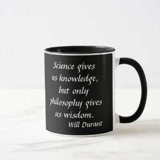 Will Durant* Quote Mug
