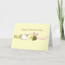 Will Ewe Bee Mine Holiday Card