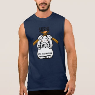 Will Fight For Sushi Sleeveless T-shirt