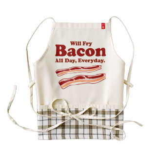 Will Fry Bacon, All Day, Everyday. Apron