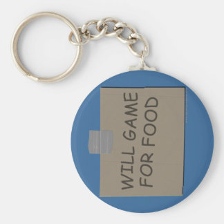 Will Game For Food Key Chains