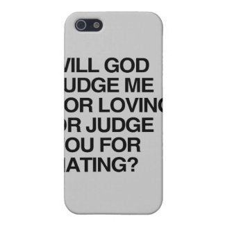 WILL GOD JUDGE ME FOR LOVIN CASE FOR iPhone 5/5S