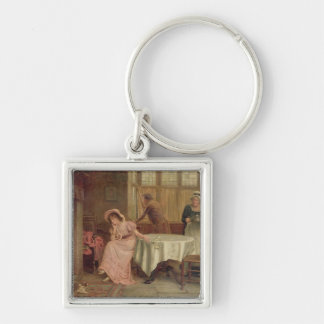 'Will He Come?' (oil on canvas) Key Chains