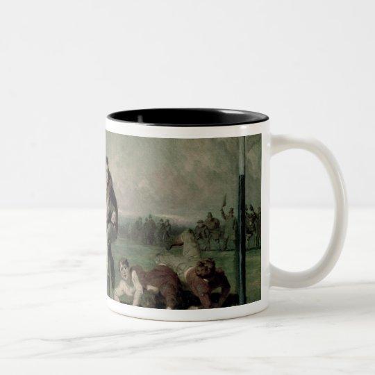 Will he do it? Two-Tone coffee mug