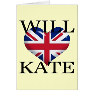 Will Heart Kate 1 Card