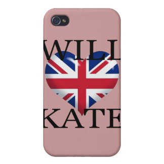 Will Heart Kate 1 iPhone 4 Cases