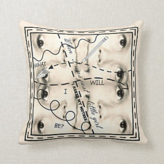 Will I be pretty? Throw Pillow