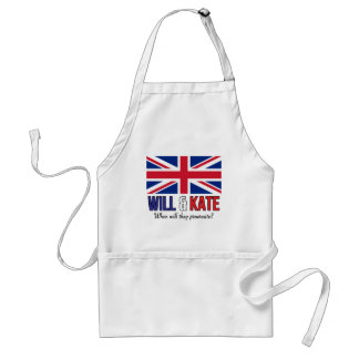Will & Kate Adult Apron