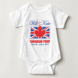 WILL & KATE CANADIAN TOUR BABY BODYSUIT