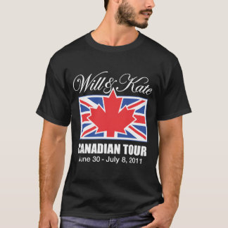 WILL & KATE CANADIAN TOUR T-Shirt