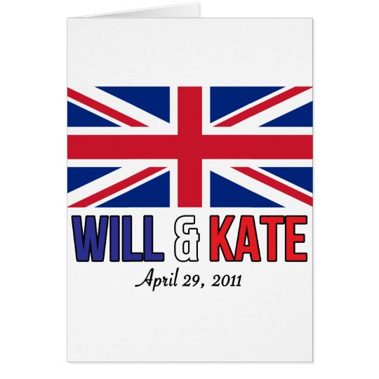 Will & Kate Card