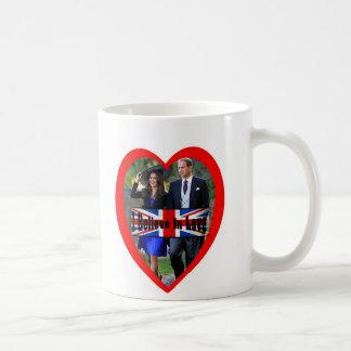 Will & Kate I Believe In Love Classic White Coffee Mug