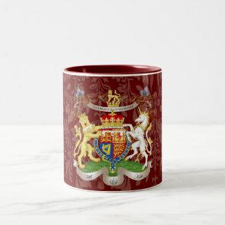 Will+Kate Memorabilia Mugs, customizable color! Two-Tone Coffee Mug