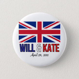 Will & Kate Pinback Button