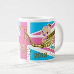 Will Kate royal baby commemorative souvenir mug 1 Extra Large Mugs
