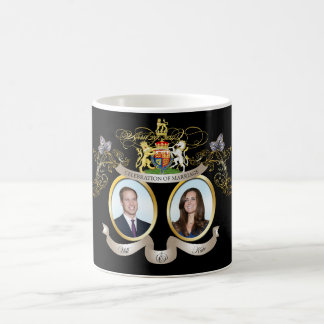 Will+Kate wedding, DIY background color!! Classic White Coffee Mug