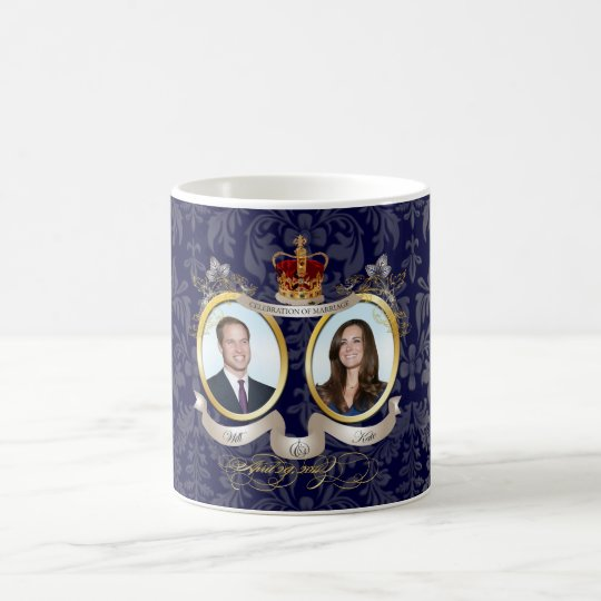 Will+Kate wedding, DIY color!! Coffee Mug