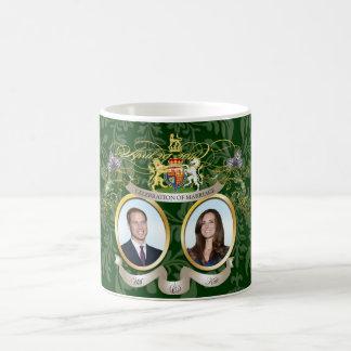will & kate wedding /DIY colors Classic White Coffee Mug