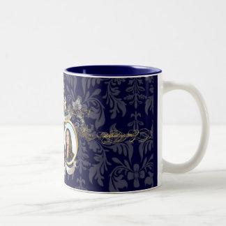 will & kate wedding /DIY colors Two-Tone Coffee Mug