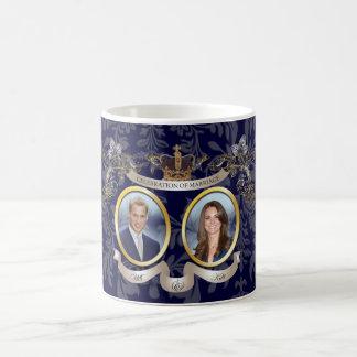 WILL+KATE WEDDING MEMORBILIA /DIY COLOR COFFEE MUG