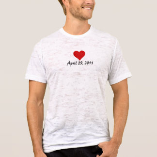 Will & Kate's Wedding Date T-Shirt