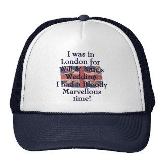Will & Kate's Wedding Trucker Hats