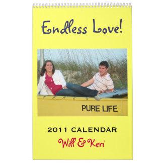 Will & Keri 2011 Keepsake Calendar