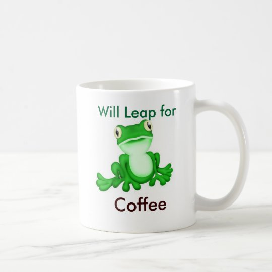 Will Leap for Coffee Coffee Mug