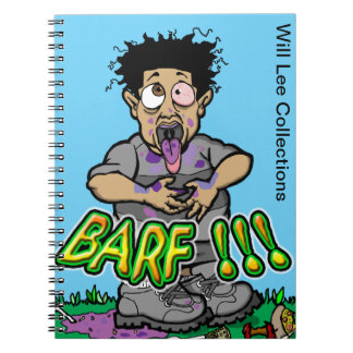 Will Lee Barf Notebook