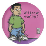 Will Lee plate