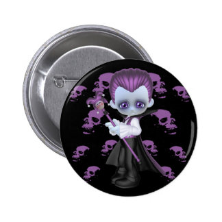 Will Little Gothics Pinback Button