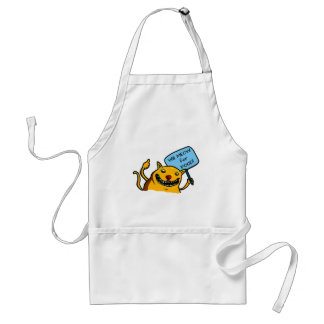 Will MEOW for FOOD! Adult Apron