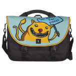 Will MEOW for FOOD! Laptop Bag