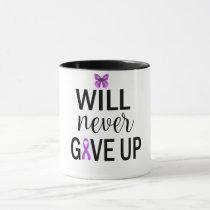 Will Never Give Up Fibromyalgia Coffee Mug