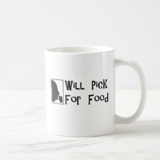 Will Pick For Food Mugs