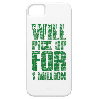 WILL PICK UP FOR $1 MILLION iPhone SE/5/5s CASE