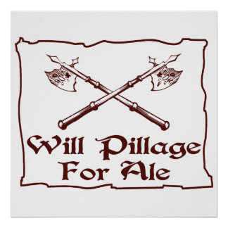 Will Pillage Poster