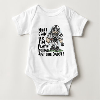 Will Play Football Like Daddy Shirts Gifts