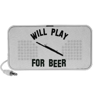 Will play the bassoon for beer vector designs notebook speaker