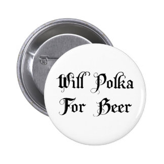 Will Polka For Beer Pins