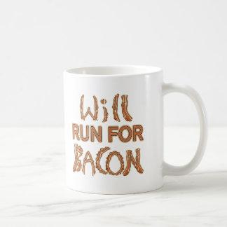 WILL RUN FOR BACON Running Tees & Gear Coffee Mug