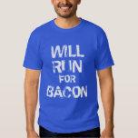 Will run for bacon tshirt
